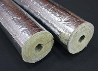 Paroc H&V Self Adhesive Grade Pipe Insulation